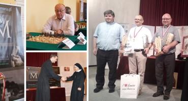 Mia Maria ponownie na Międzynarodowych Mistrzostwach Duchowieństwa w Szachach Klasycznych