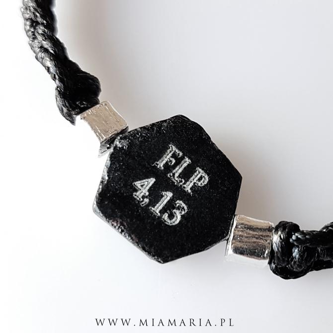 Bransoletka z kamieniem FLP 4, 13