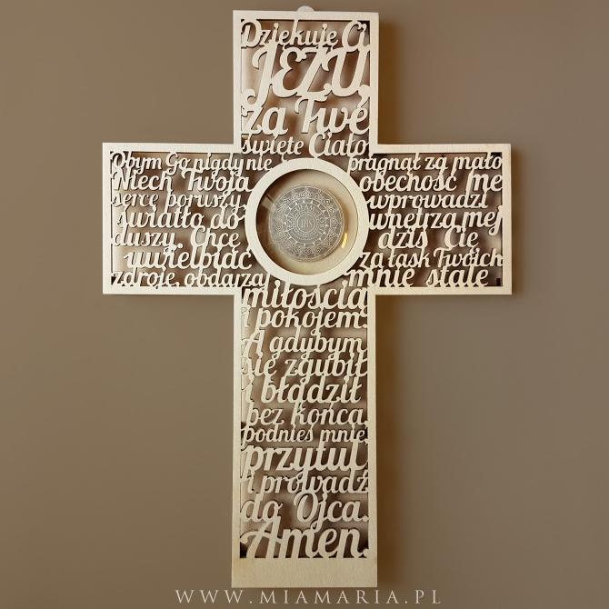 Krzyż - Pamiątka Sakramentu I Komunii Świętej