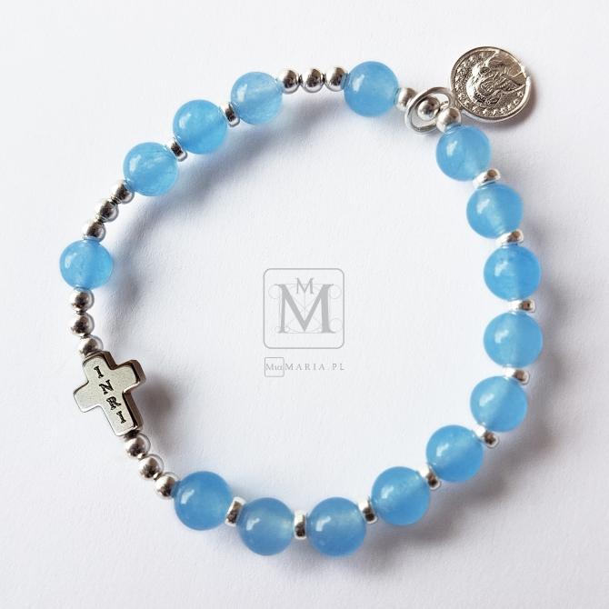 Różaniec (Mia Maria) XXXXVI Asimi blu