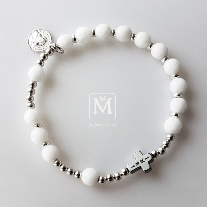 Różaniec (Mia Maria) XXXXVI blanco