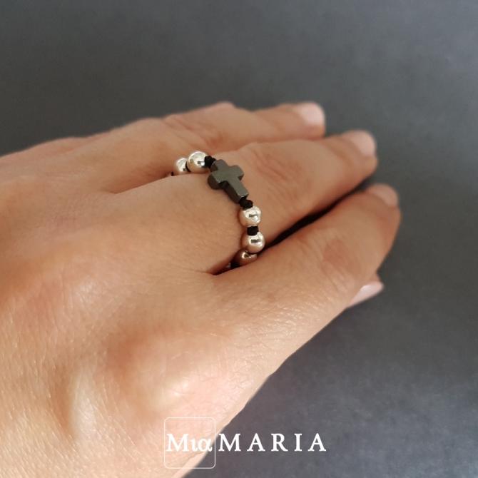 Różaniec (w formie obrączki) MiaMaria II
