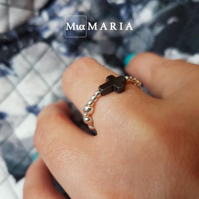 Różaniec (w formie obrączki) MiaMaria III