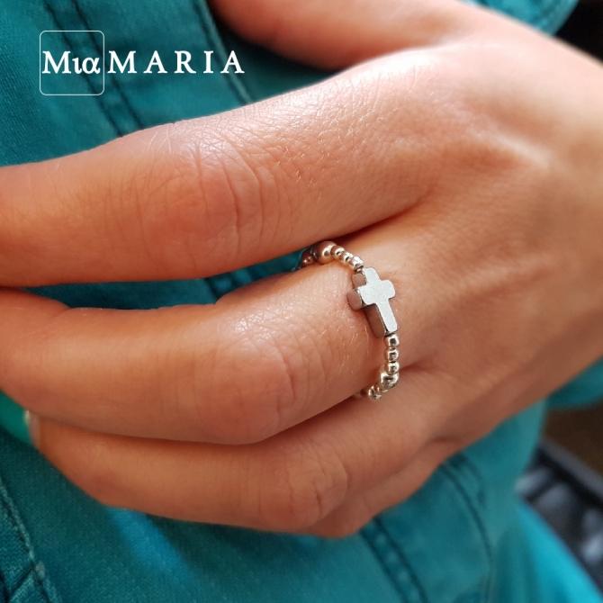 Różaniec (w formie obrączki) MiaMaria IV