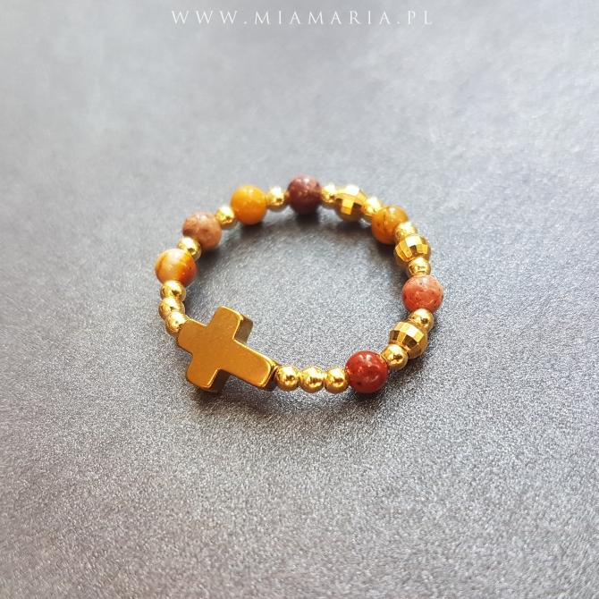 Różaniec (w formie obrączki) MiaMaria VII