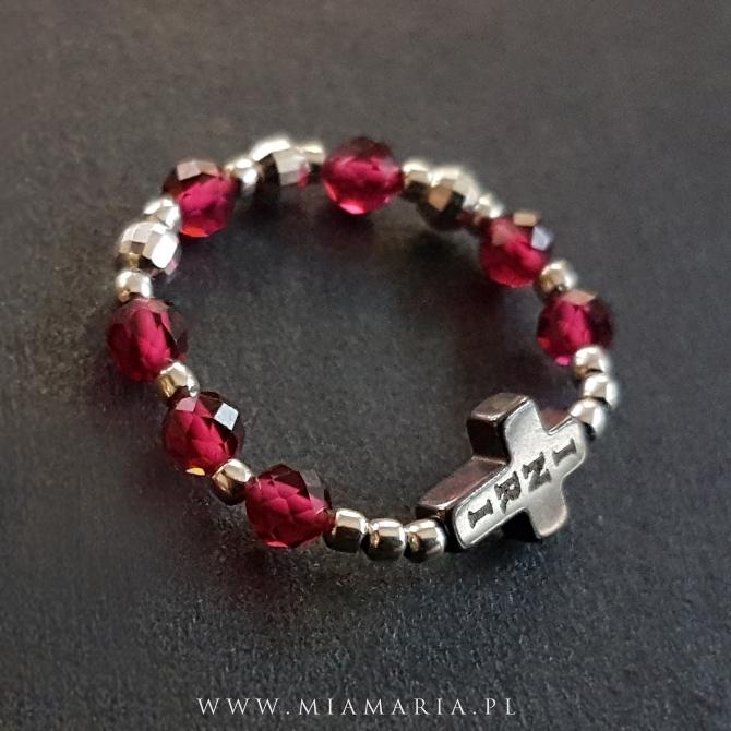 Różaniec ( w formie obrączki) MiaMaria XXVI